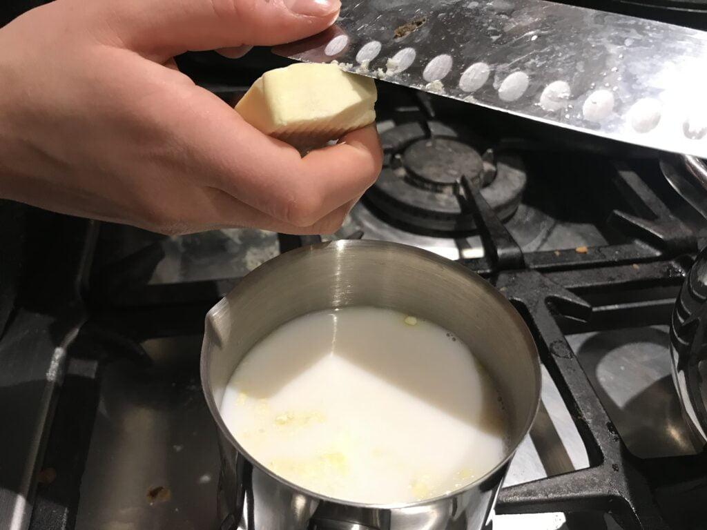 חמאת קקאו להכנת שוקו
