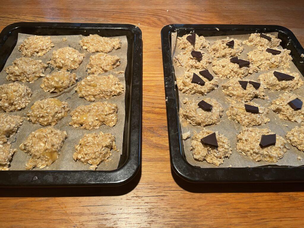עוגיות בריאות קלות וטעימות לפני תנור