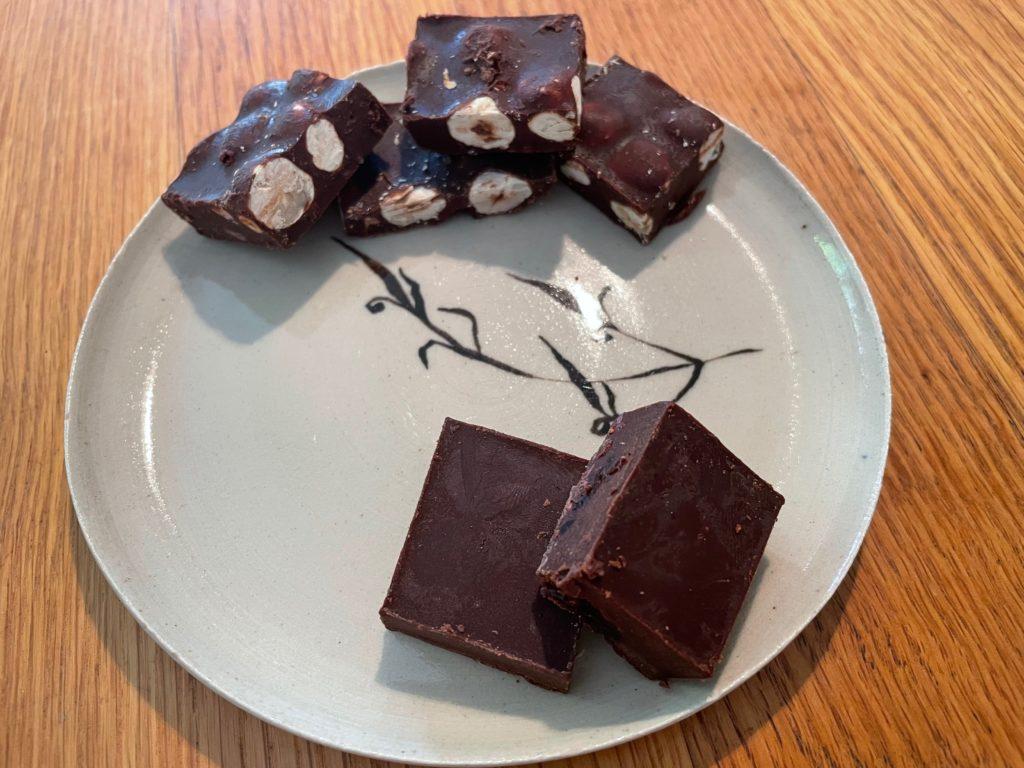 פרילינים שוקולד ממרכיבים בריאים