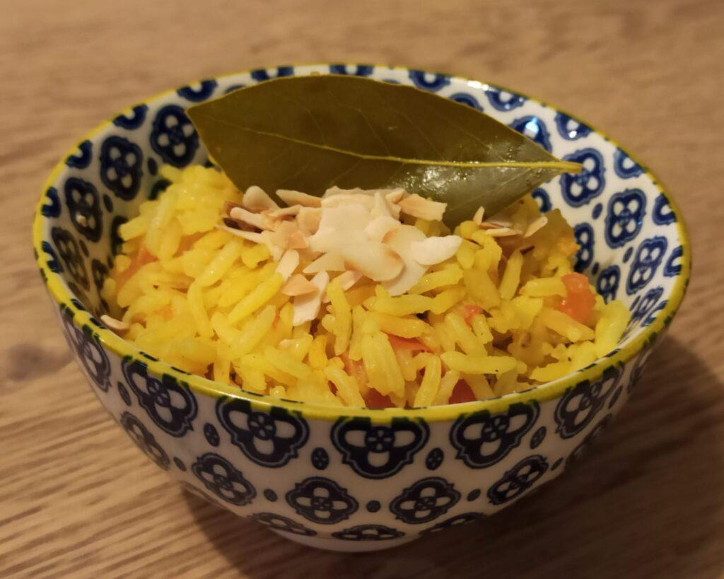 מתכון אורז צהוב