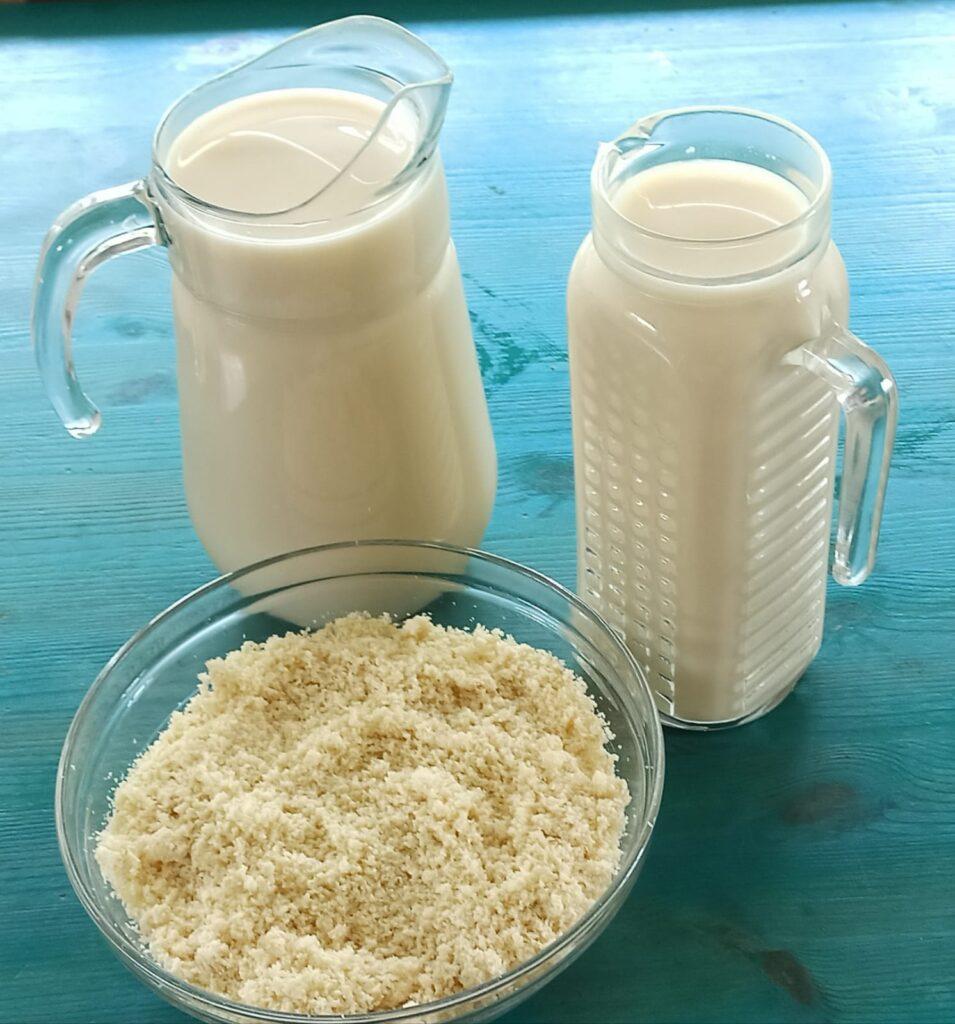 הכנת חלב סויה ביתית